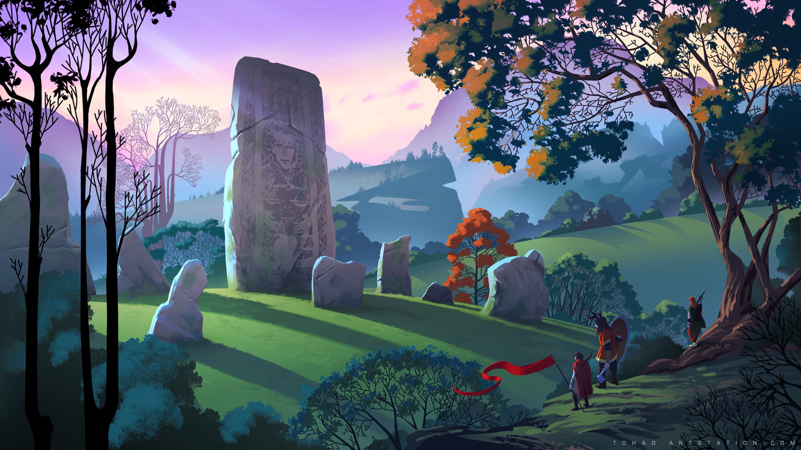 The Banner Saga tribute