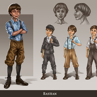 Never Ending Story Concept Redesign _ Bastian