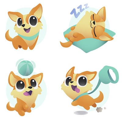 Corgi icons for Snau
