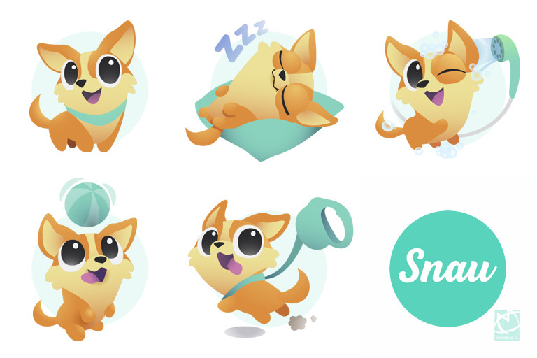 Corgi icons for Snau