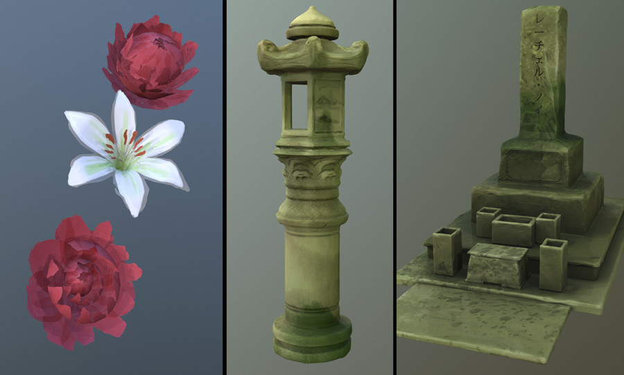 Props (Rendered in Marmoset Toolbag 3)