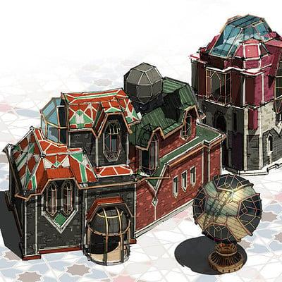 Joon ahn piltover architecture 03