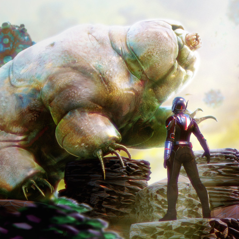 Ant-Man Meets the Tardigrade
