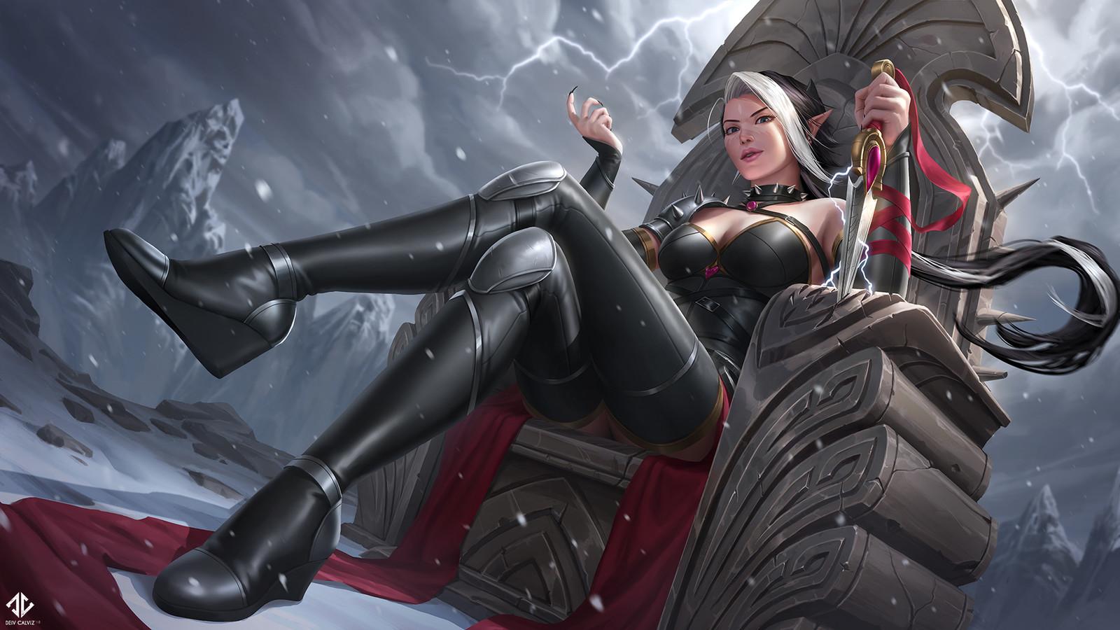 Adalia Throne Splash