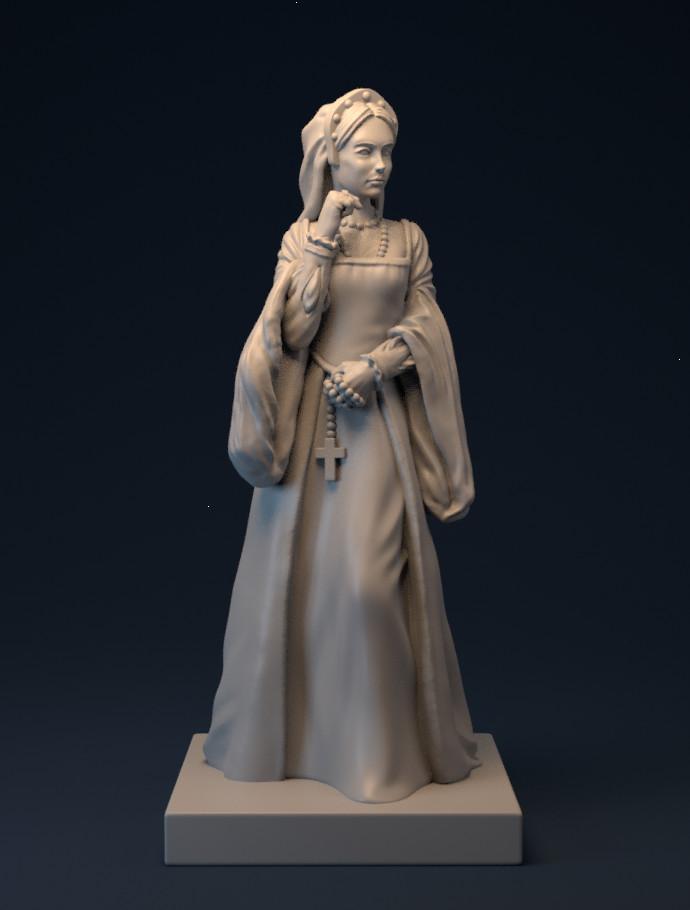 Courtier Margaret - Tudor