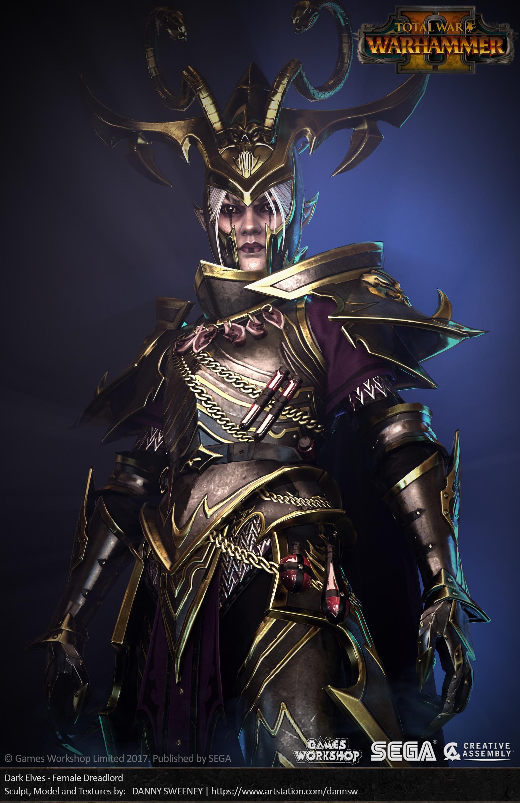 Danny Sweeney Total War Warhammer Ii Dark Elves