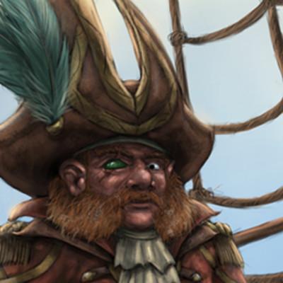 Christian hadfield dnd captain ulgrid saltbeard by christian hadfield
