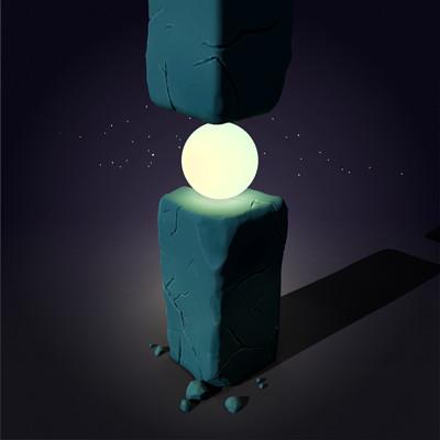 Izzy stijn pillar with light final render 4