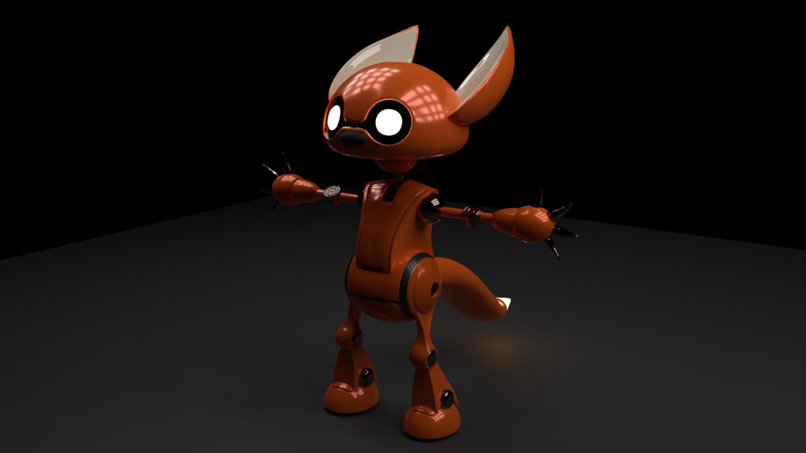 Robot Fox Boy