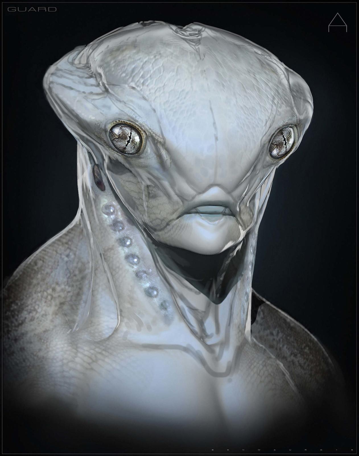 Gecko Alien