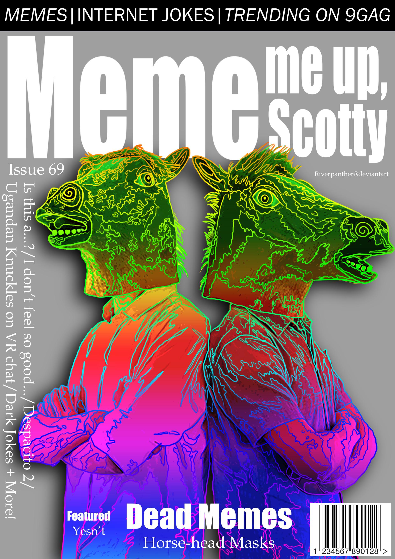 Jane Van Der Merwe Meme Magazine And Neon Wolf