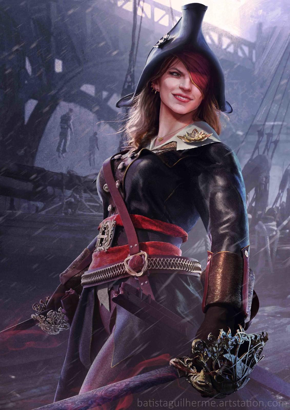 Liana, The Pirate