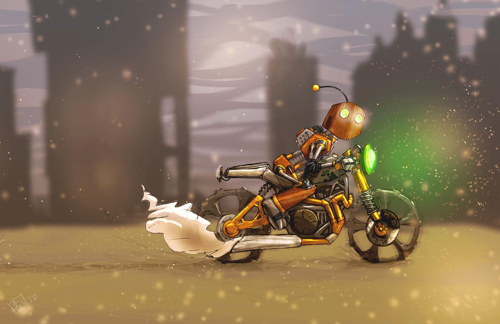 Cafe Racer, Robo Rider