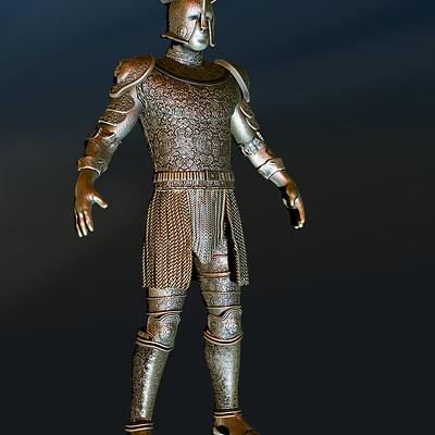 David oulton armour w bkg
