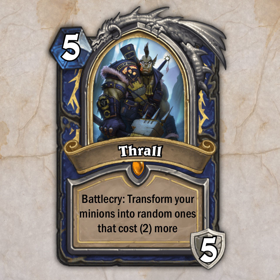 thrall card ^_^