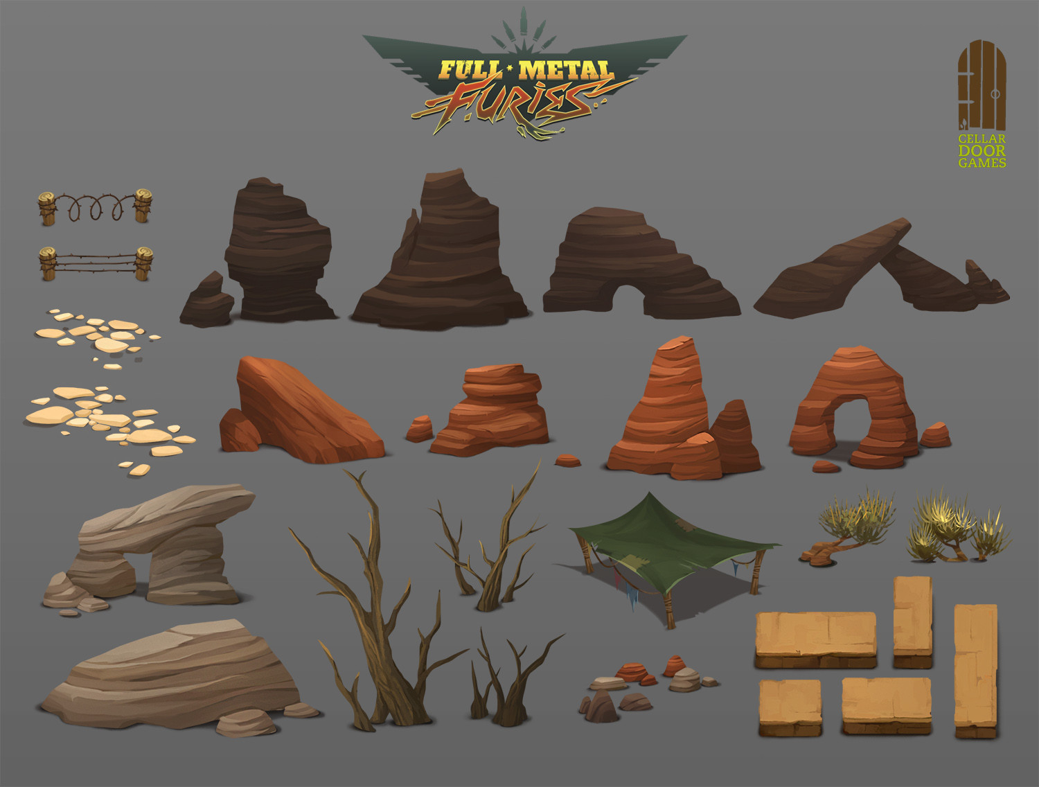 Desert World Assets