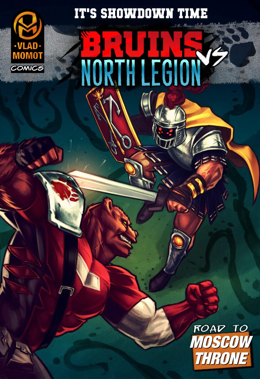 Bruins vs. North Legion