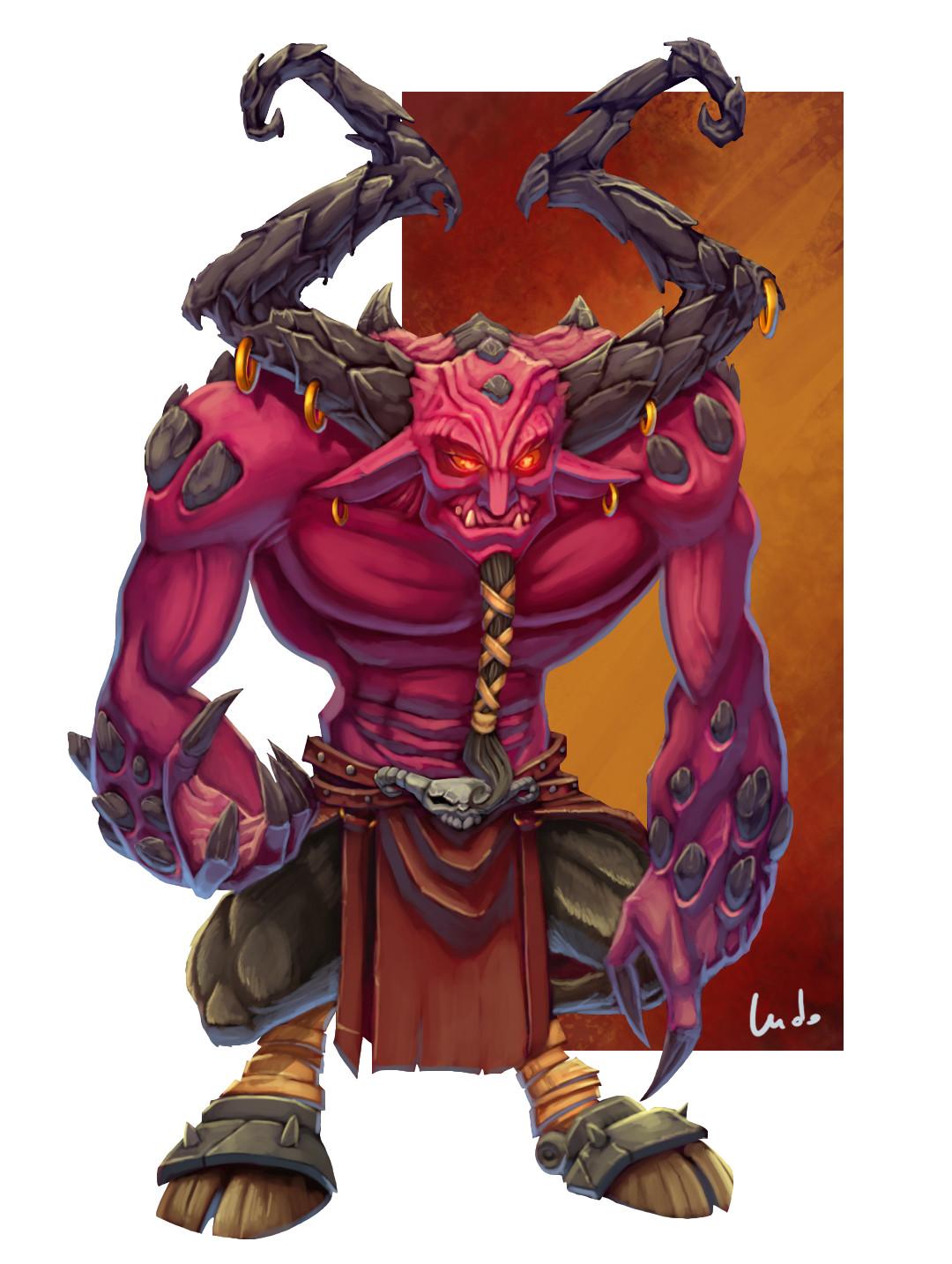 Ludovic rivalland pink demon