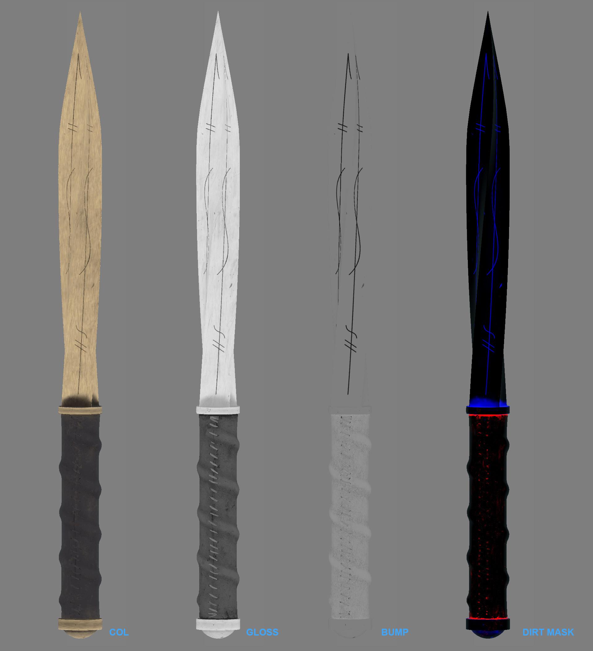 Stuart Ansley Supernatural Archangel Blade