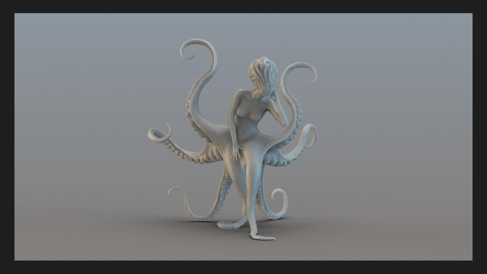 3D Print Sea Marilyn