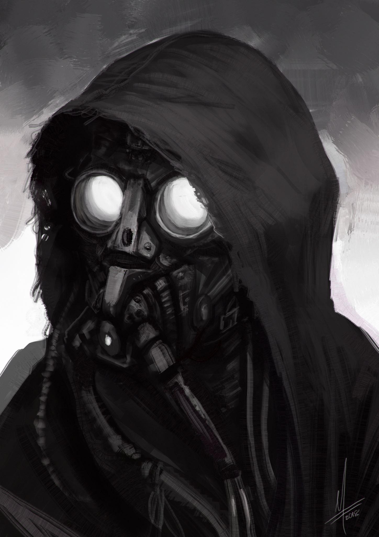 Masked version sketch