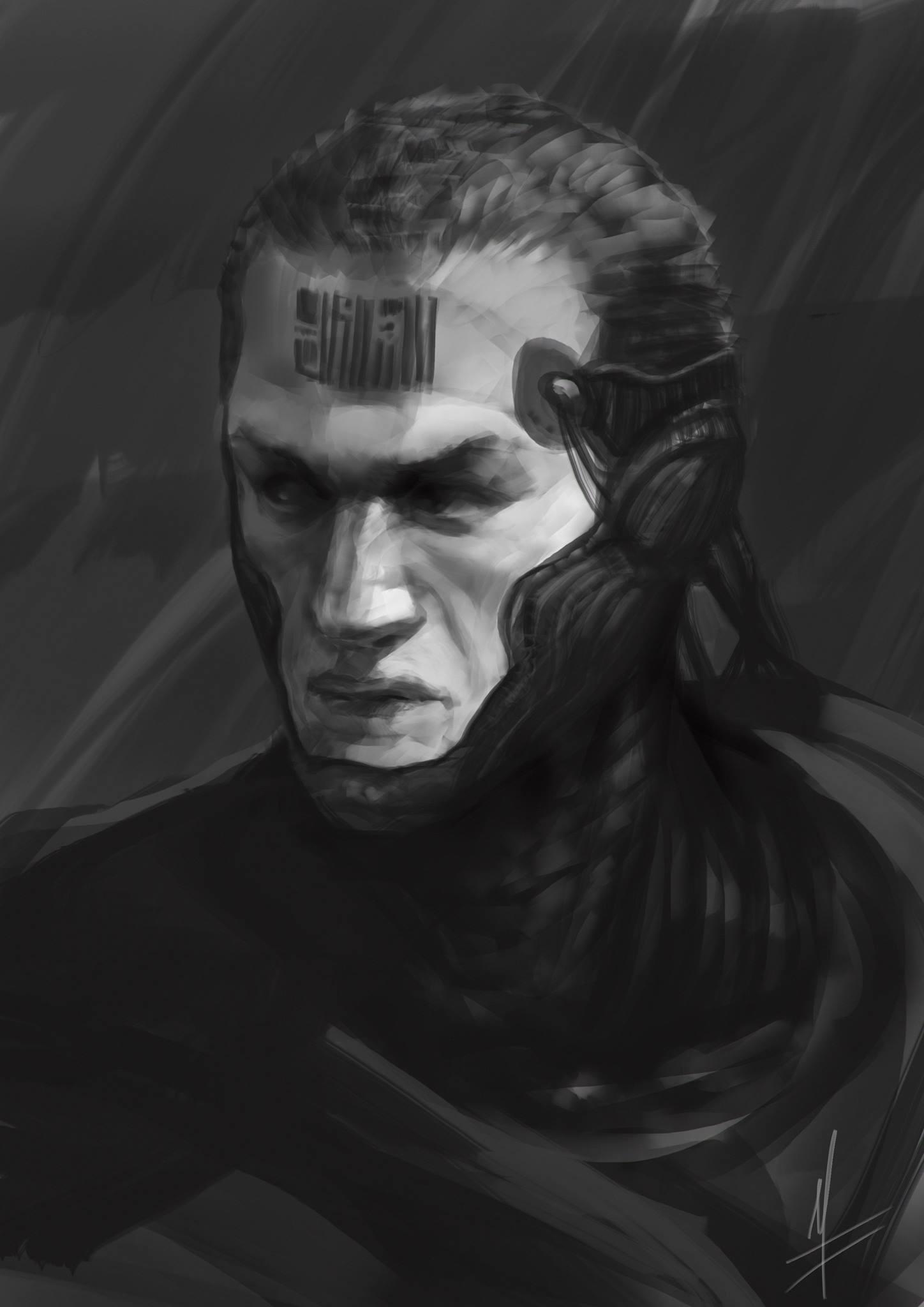 No mask version sketch :D