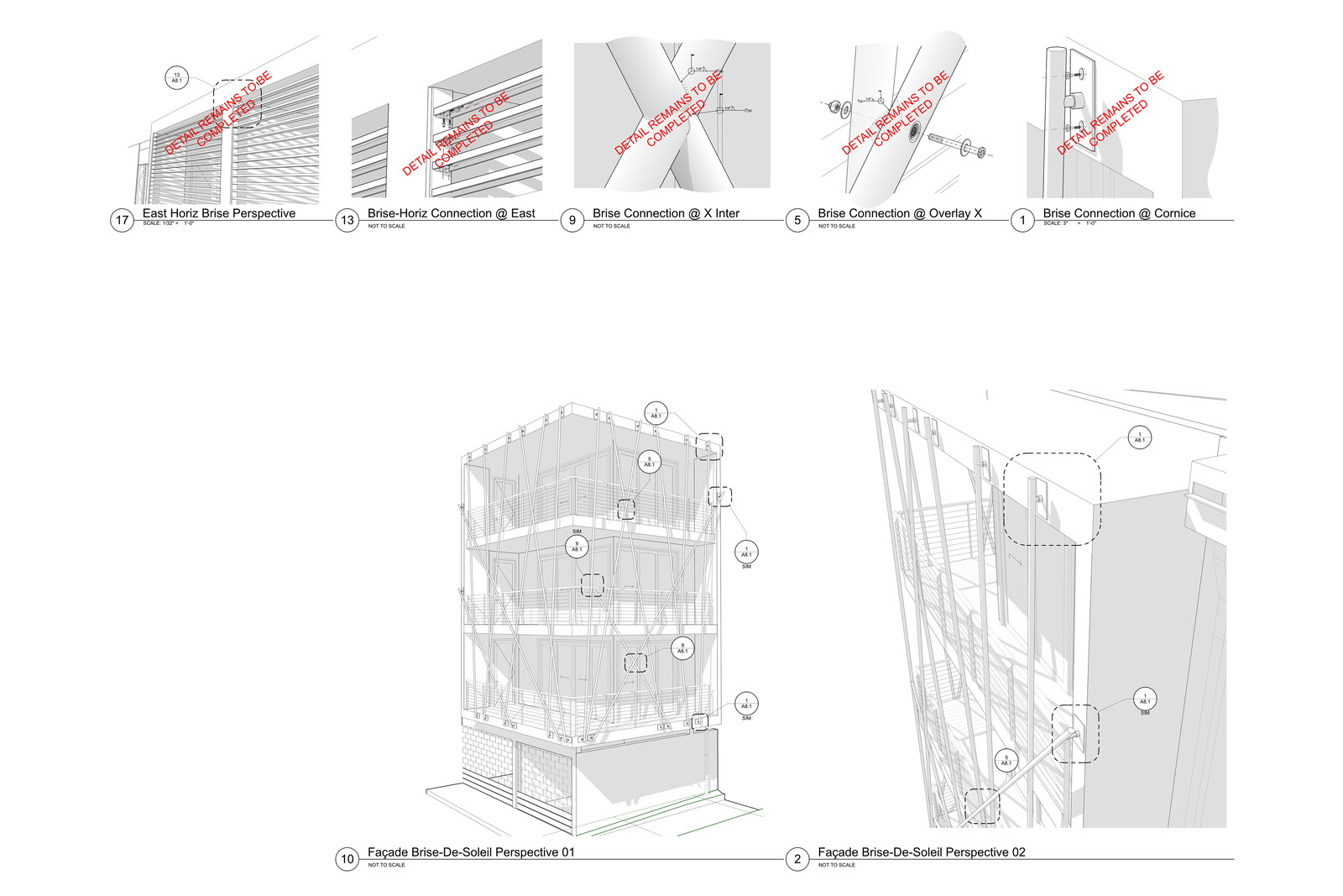 Intersection of Architectural Illustration and Technical Illustration