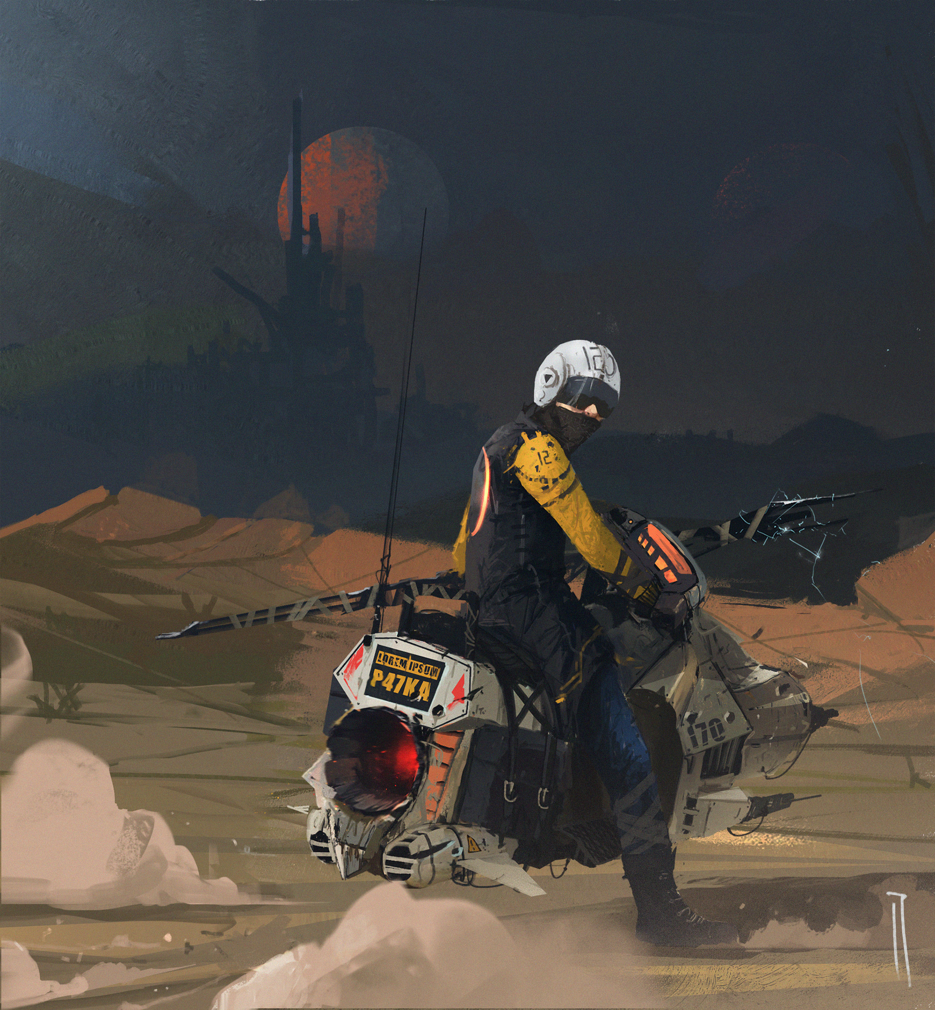 Ismail inceoglu red eclipse