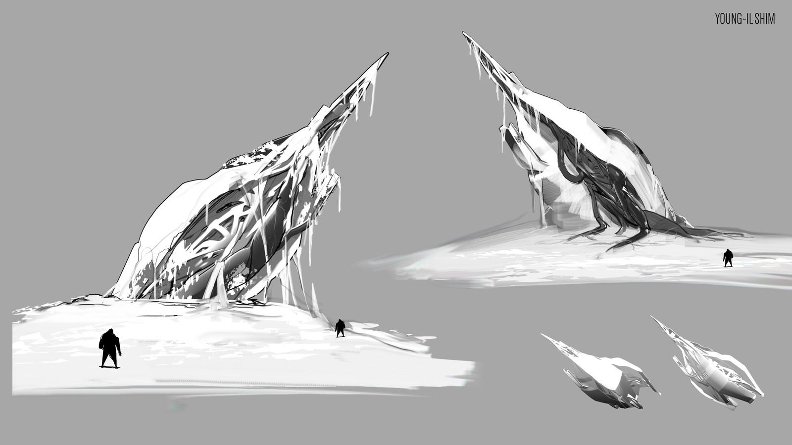 Spaceship Wreck