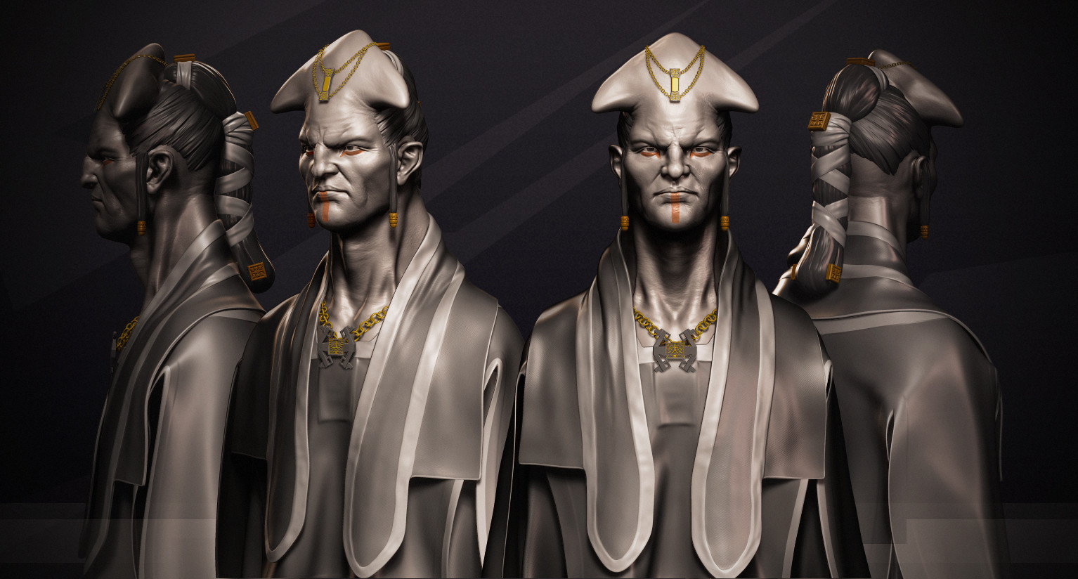 Omar chaouch omar chaouch priest zbrush