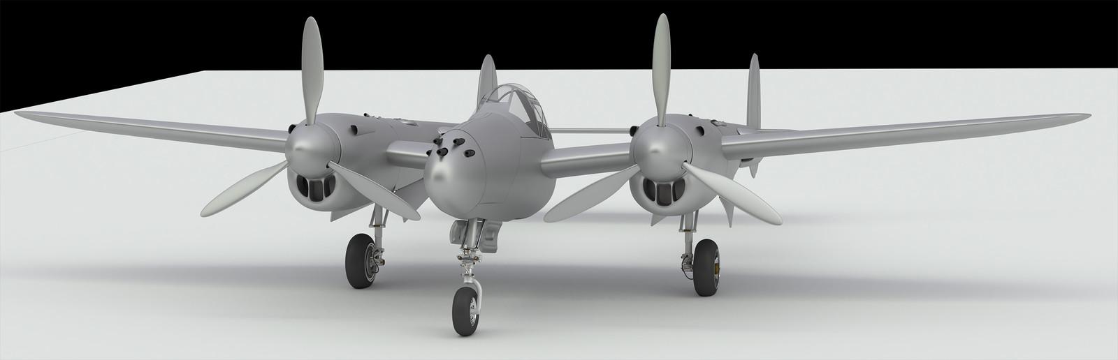 P-38 study