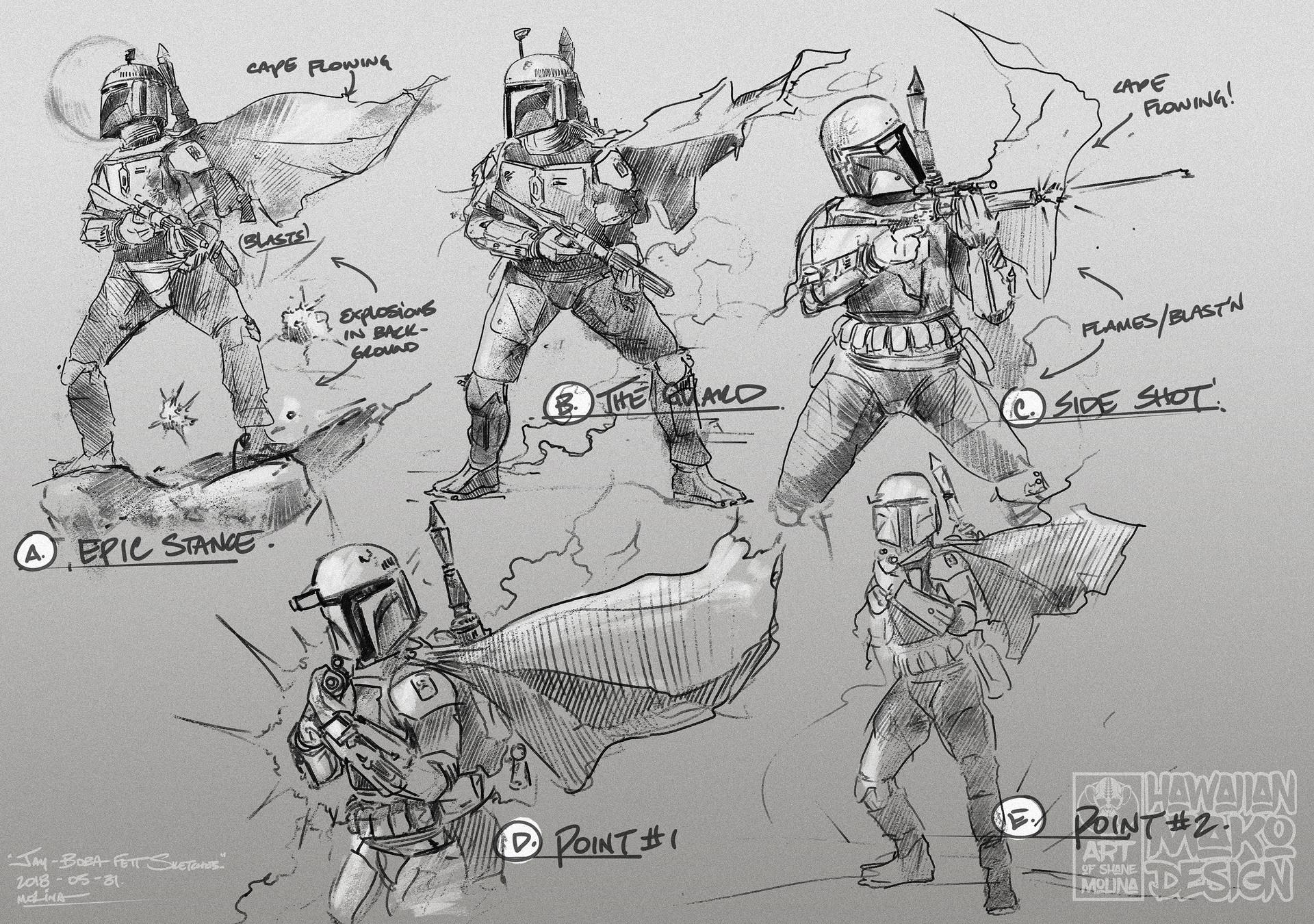 Shane molina jay preboba sketches