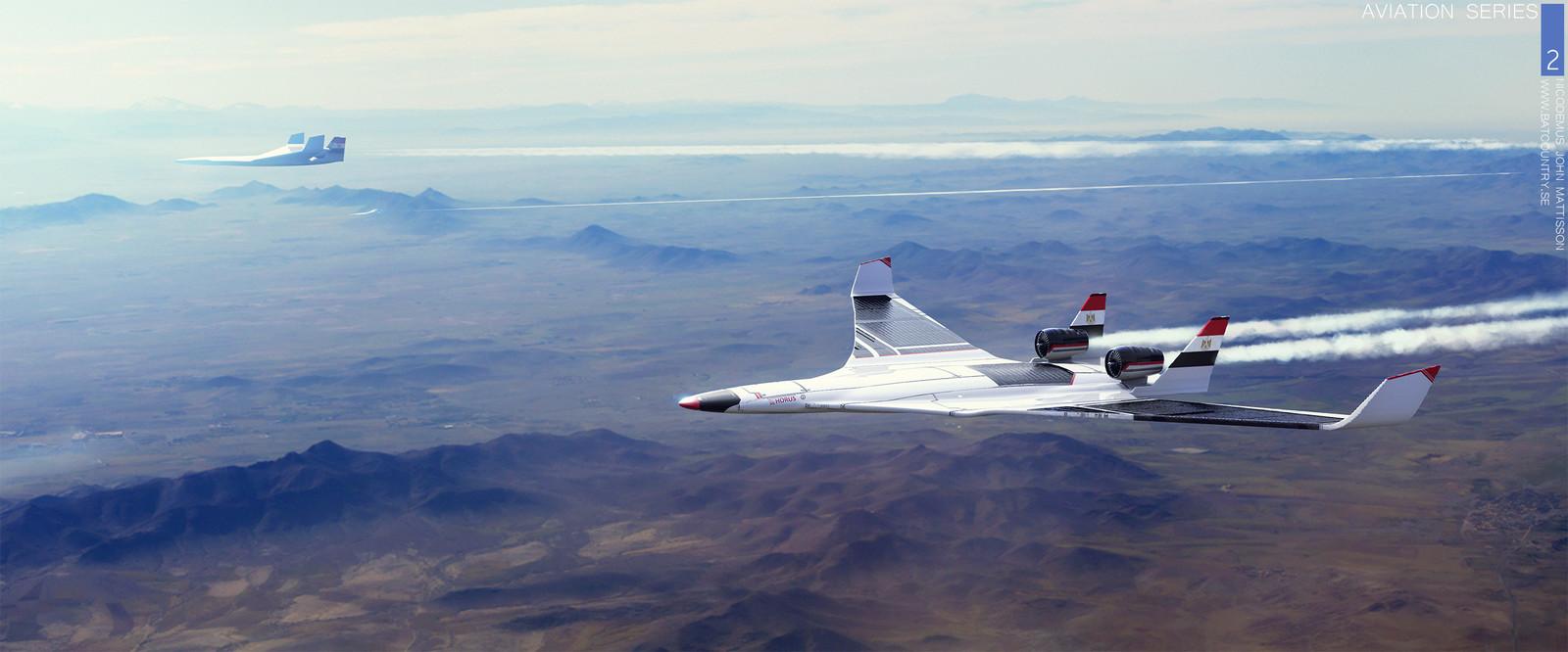 Aviation Series 2: Horus Test Flight