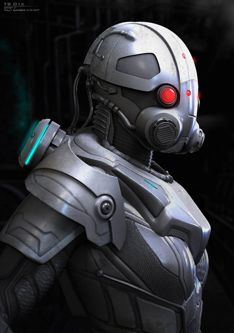 Tully Summers Ant Man And The Wasp Ghost Early Armored