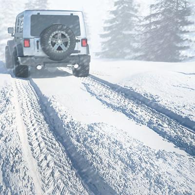 Pedro pilamunga jeep snowss