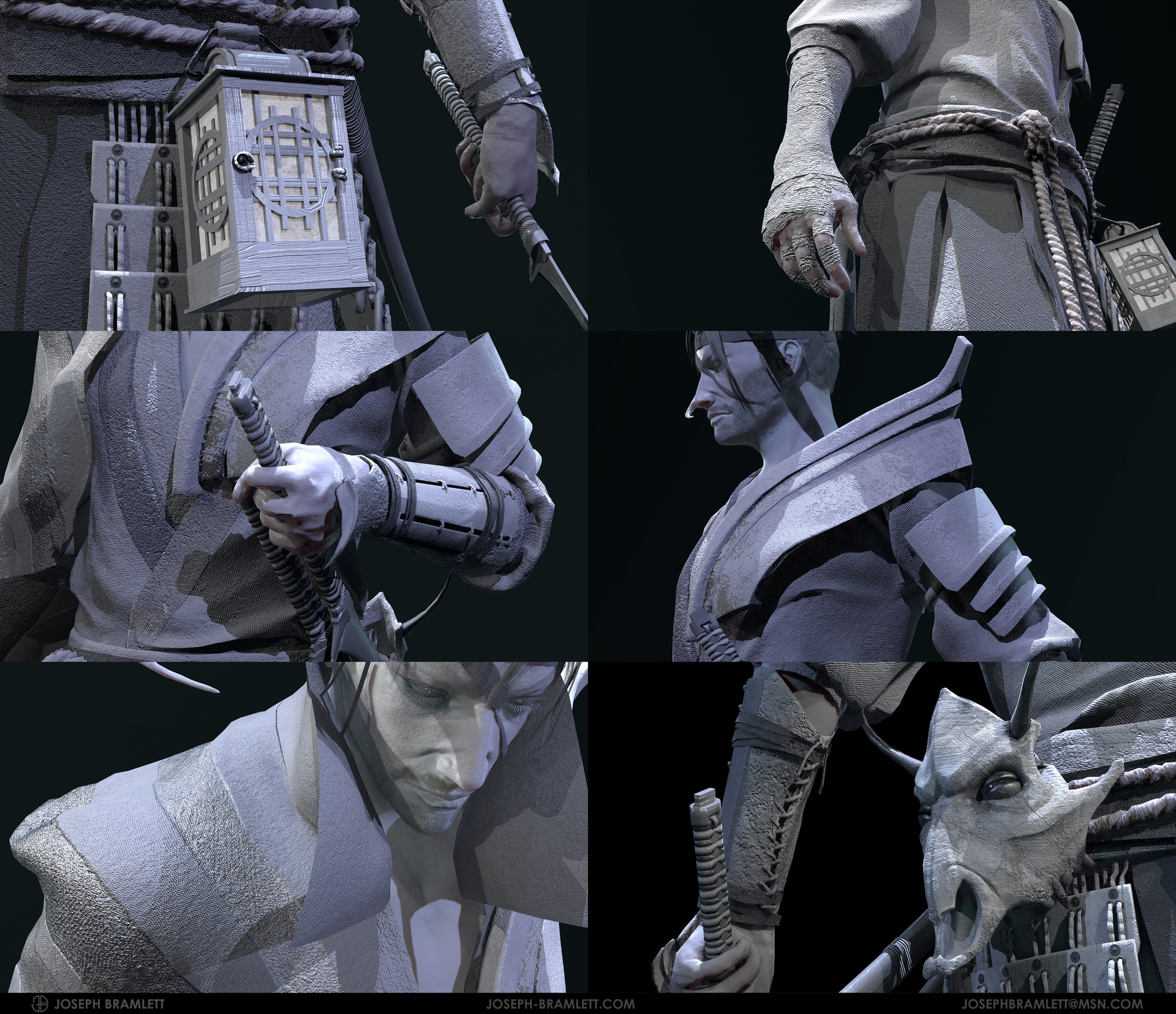 Joseph bramlett grey details