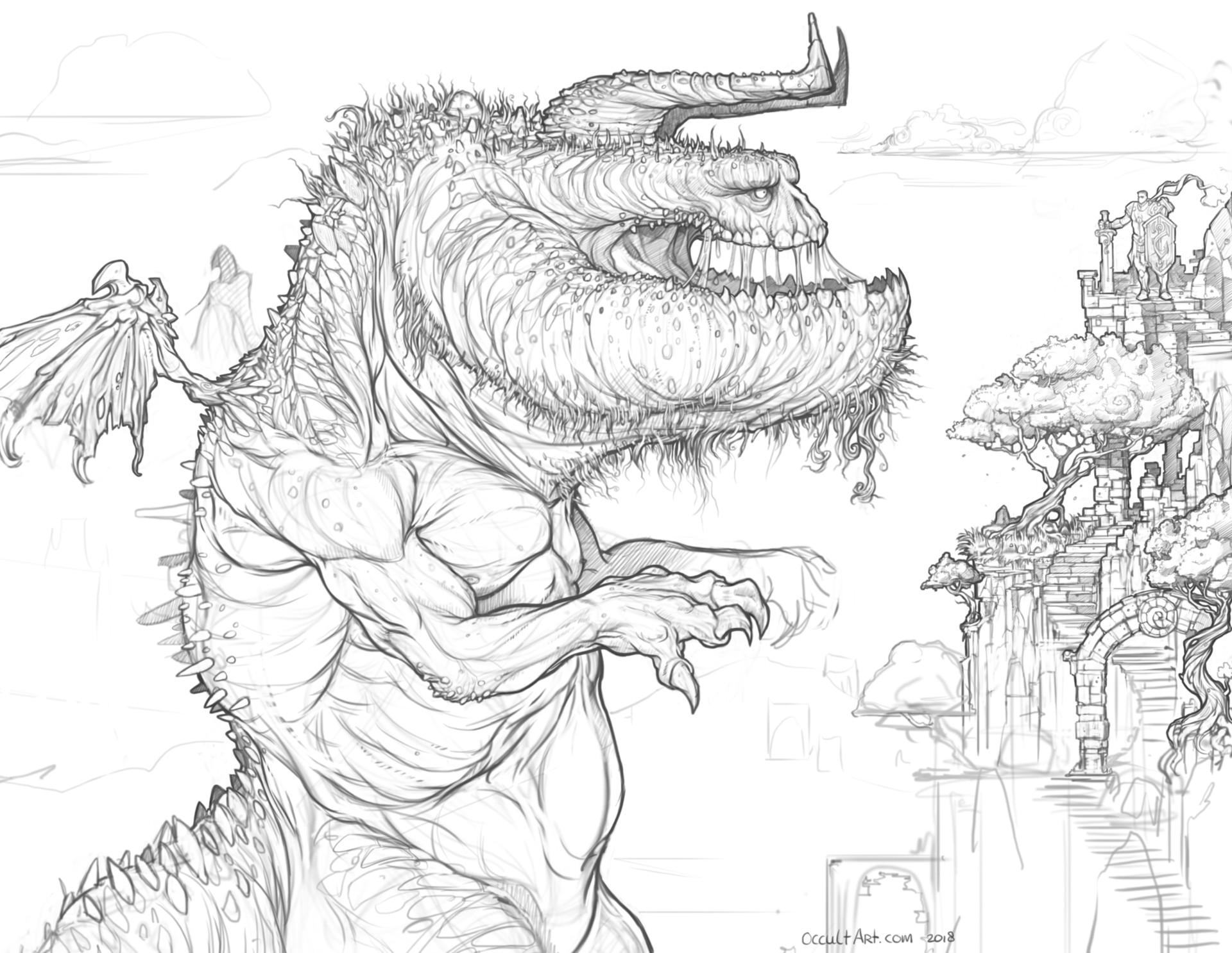 Occultart   large monster 040