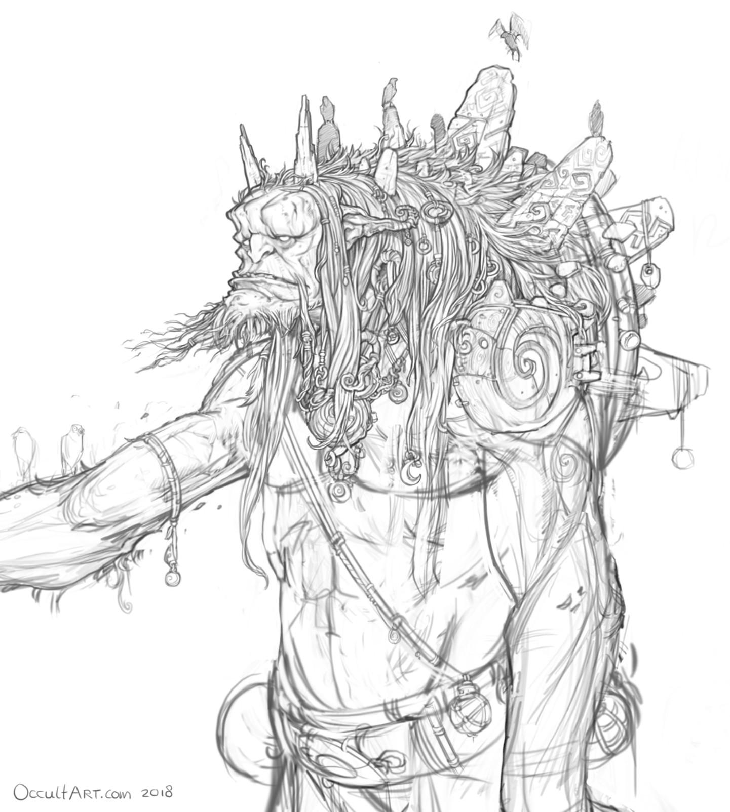 Occultart   creature sketches 028 02