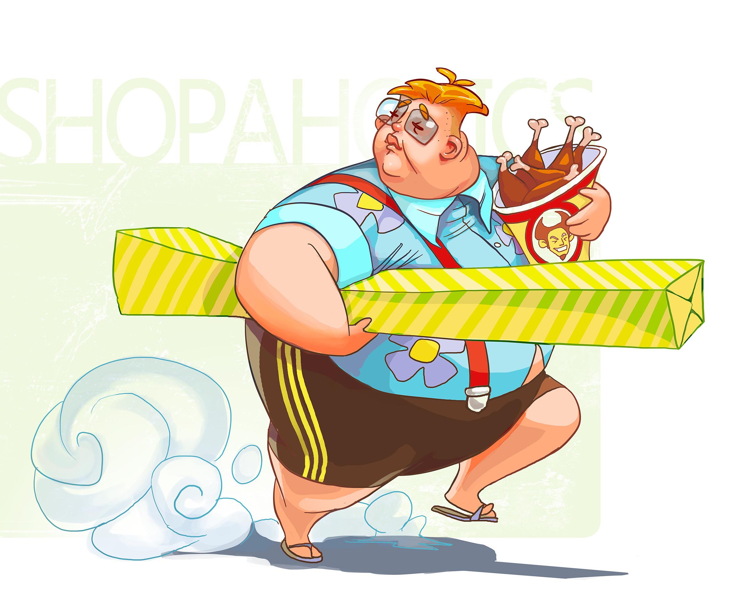 A fat guy