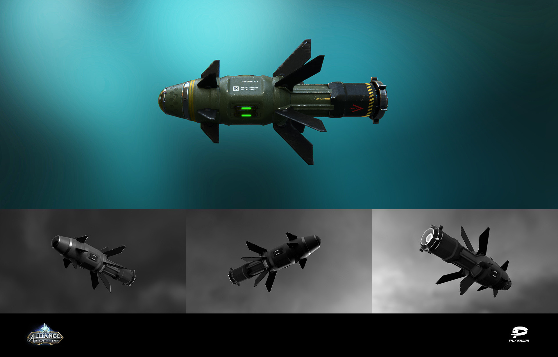 concept art of the rocket (in collaboration with 3d dept)