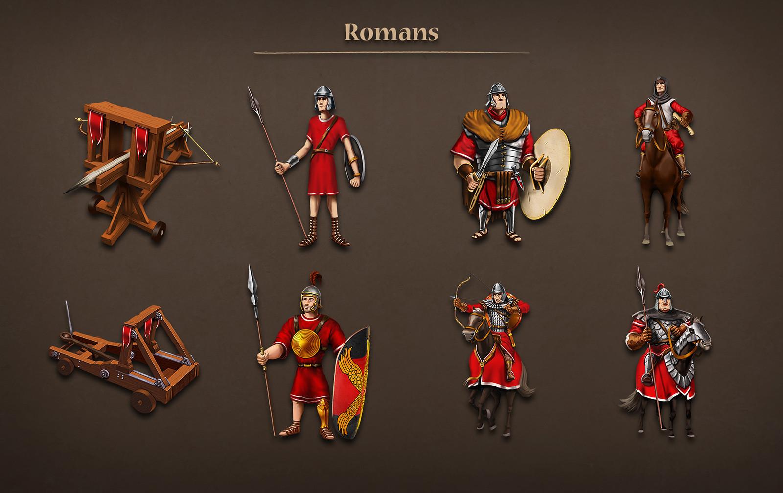 Roman units