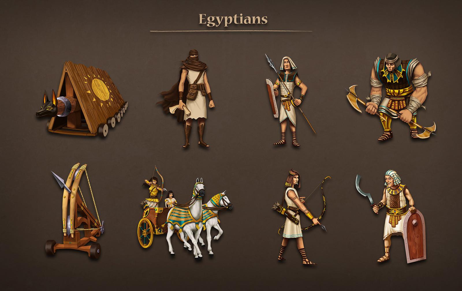 Egyptian units