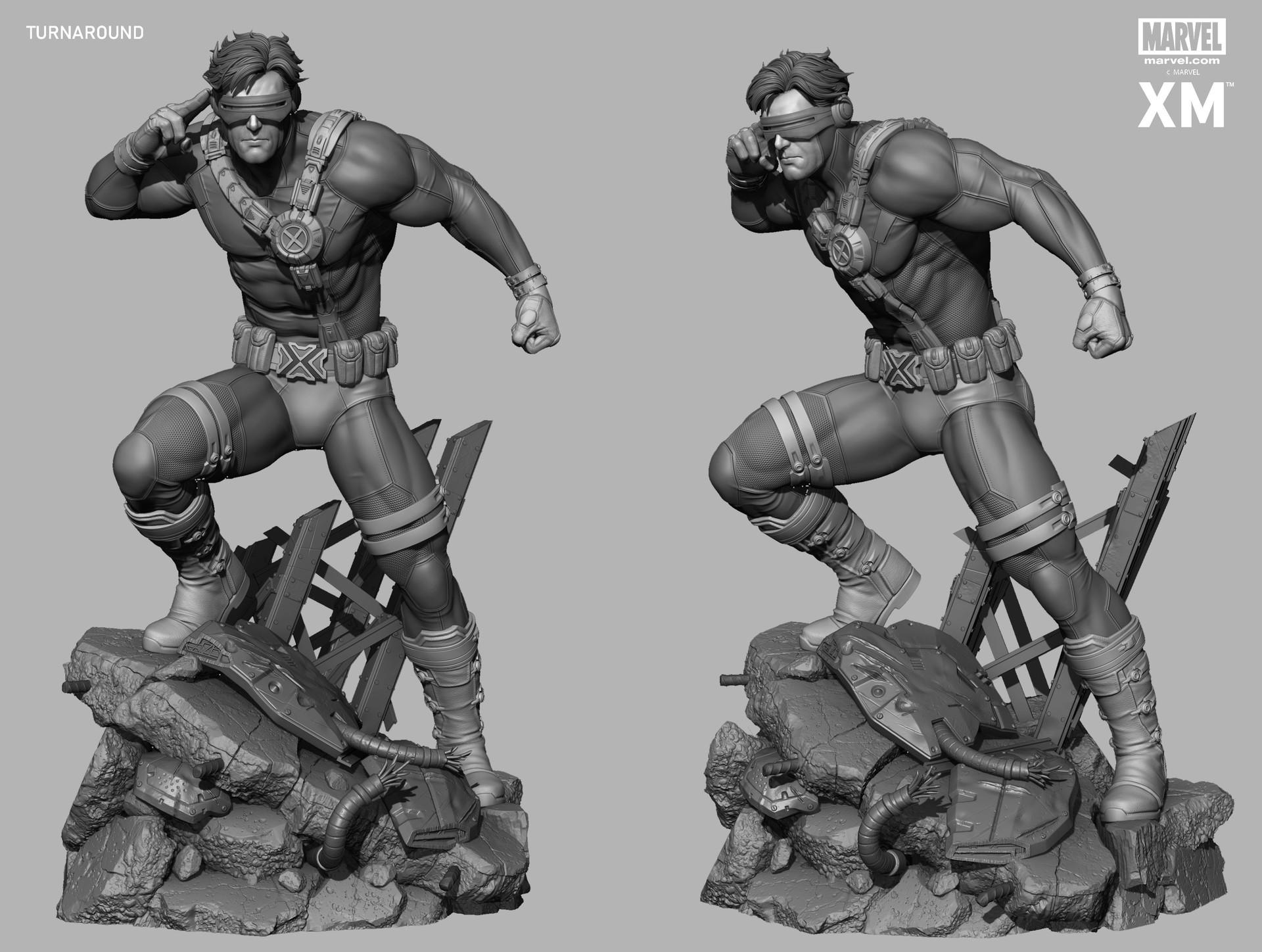Rafael mustaine cyclops zbc render 4