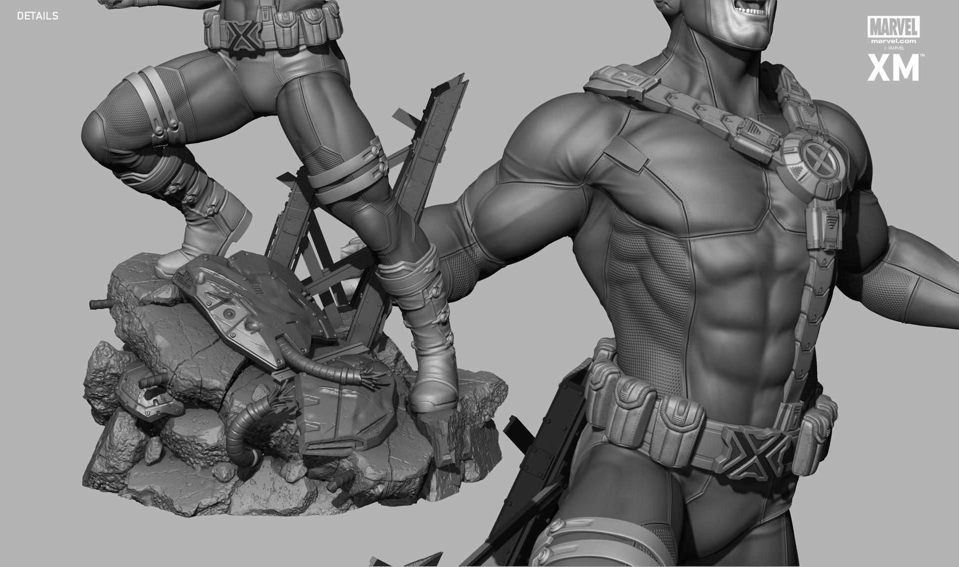 Rafael mustaine cyclops zbc render 2