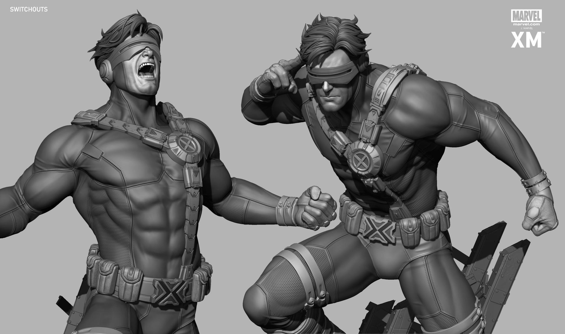 Rafael mustaine cyclops zbc render 3