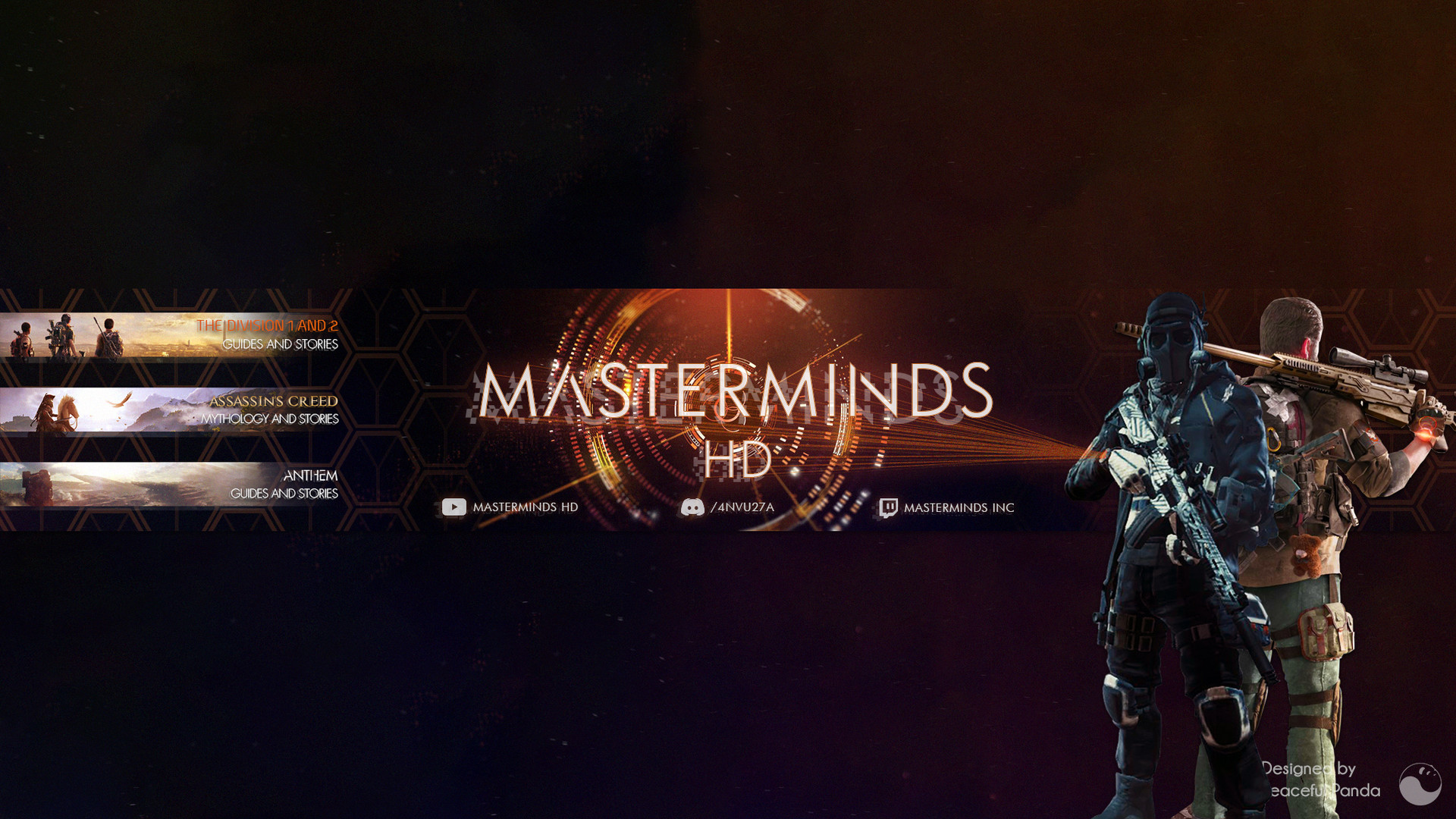 Artstation Masterminds Hd Banners Peaceful Panda