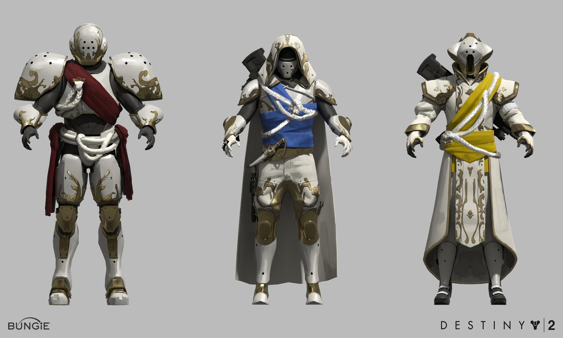 Destiny 2 Guardian Concept Art