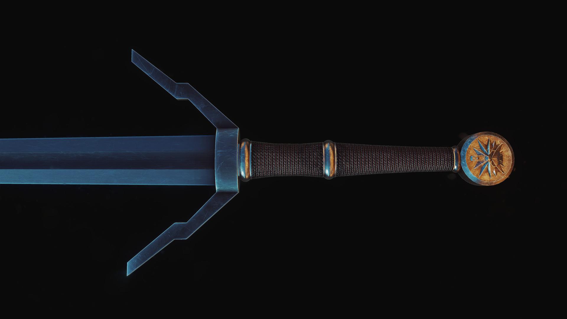ArtStation - Witcher Silver Sword, Alvaras Turskas