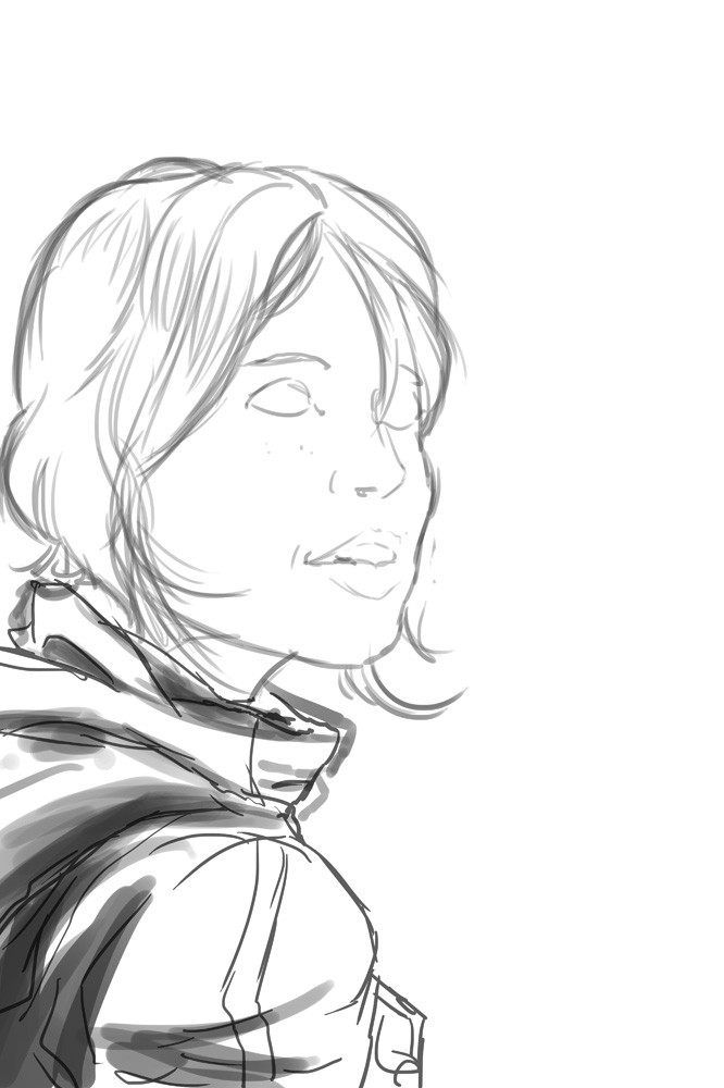 Rogue One sketching