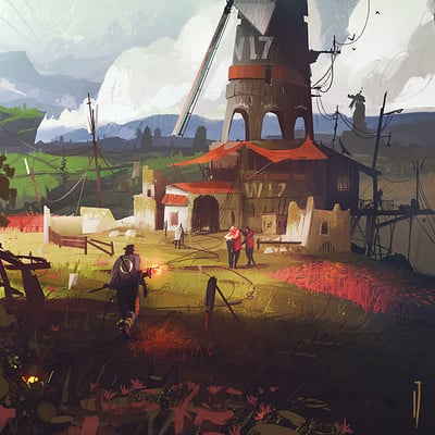 Ismail inceoglu windmill 17
